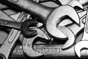 spanner, tools, wrench